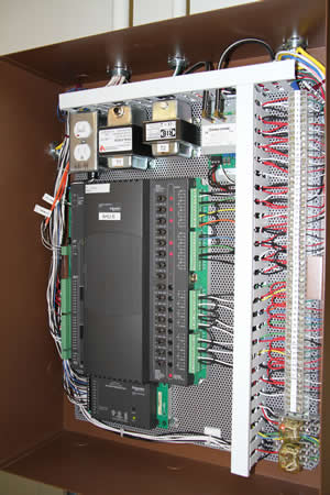 A typical HVAC control system.
