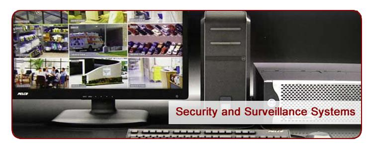 Mason & Barry installs and maintains Pelco Security and Surveillance Systems