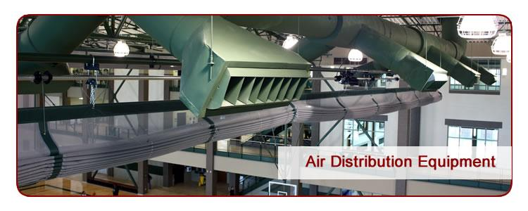 Air Distribution Equipment for gyms and other public facilities